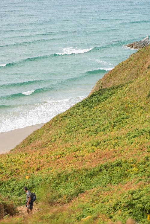 Loiba. Ruta de las algas. Los acantilados más bonitos del mundo.