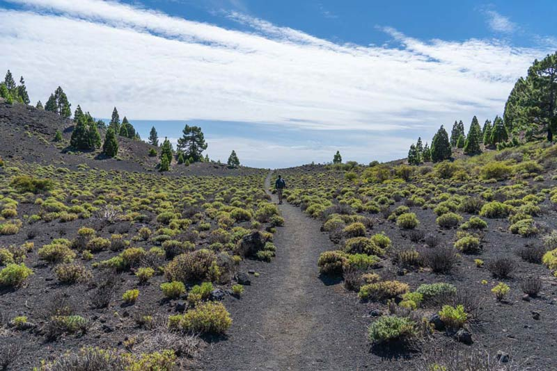 Llano del Guanche. Ruta de los volcanes. Perder el rumbo.