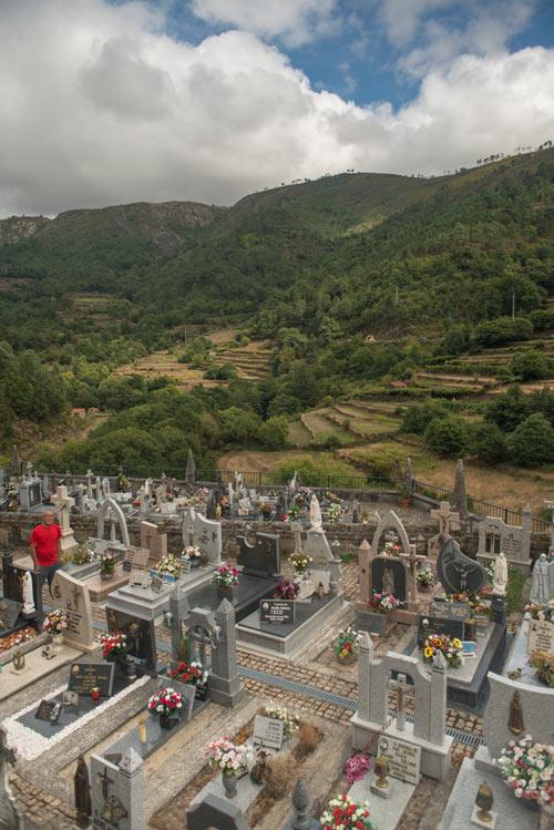 Cementerio y socalcos de Sistelo. Un pequeño Tíbet en Portugal