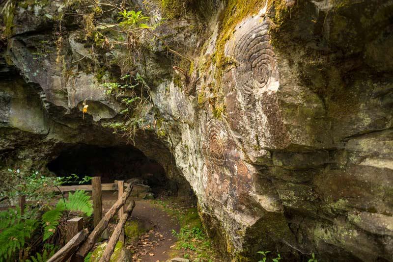 Grabados rupestres en la Zarza - Perder el Rumbo