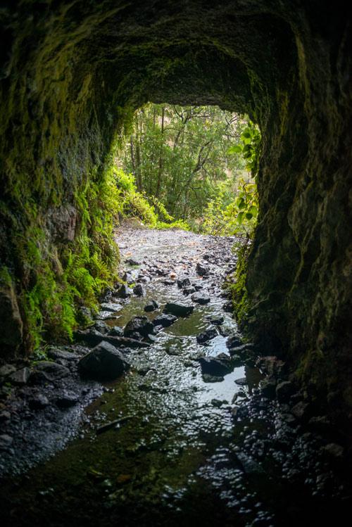 Interior del túnel número 12 de Marcos y Cordero