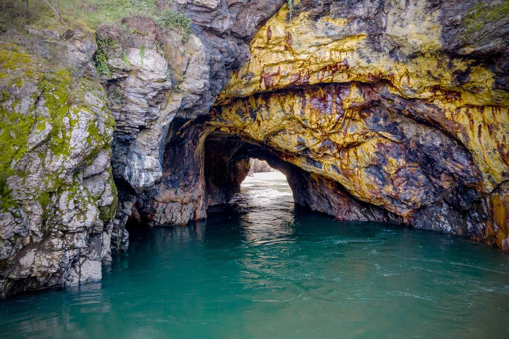 Túnel de Montefurado. El impresionante túnel romano de Lugo. Perder el Rumbo